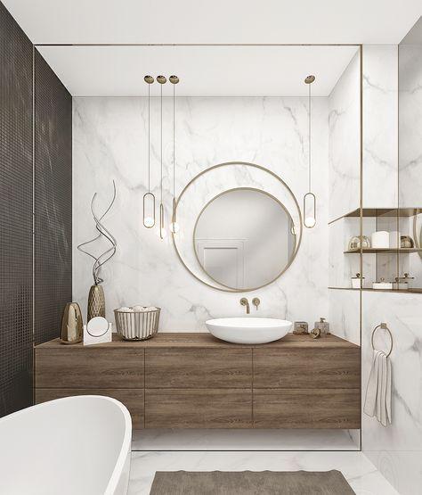 Modern Bir Banyo Tasarlarken Nelere Dikkat Etmelisiniz? , Modern Banyo Fikirleri, Modern Banyo Dekorasyonu, Modern Banyo Tasarımları | Neşeli Süs Evim